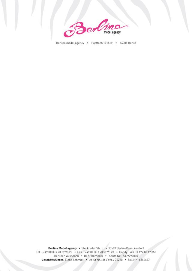 Briefpapier_ModelAgency